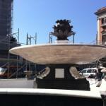 Fontana del Carciofo: pronta all'inaugurazione (FOTO)