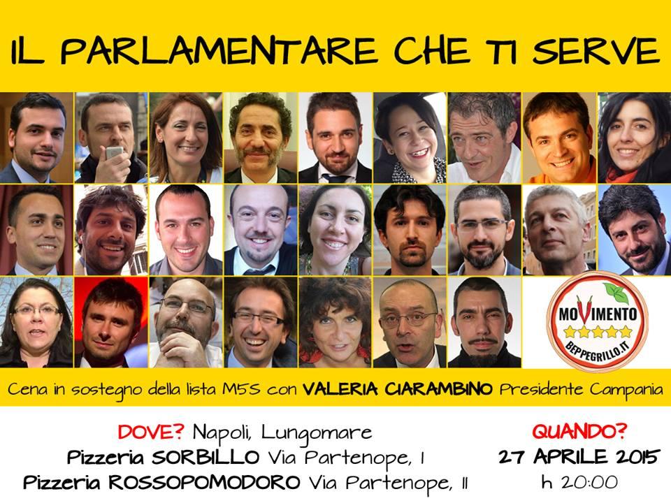 Movimento 5 stelle, i parlamentari camerieri sul lungomare di Napoli per finanziare la campagna elettorale
