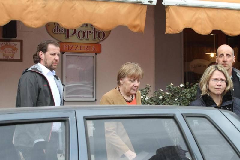 Pasqua: Angela Merkel agli scavi di Stabia e poi solita tappa a Ischia