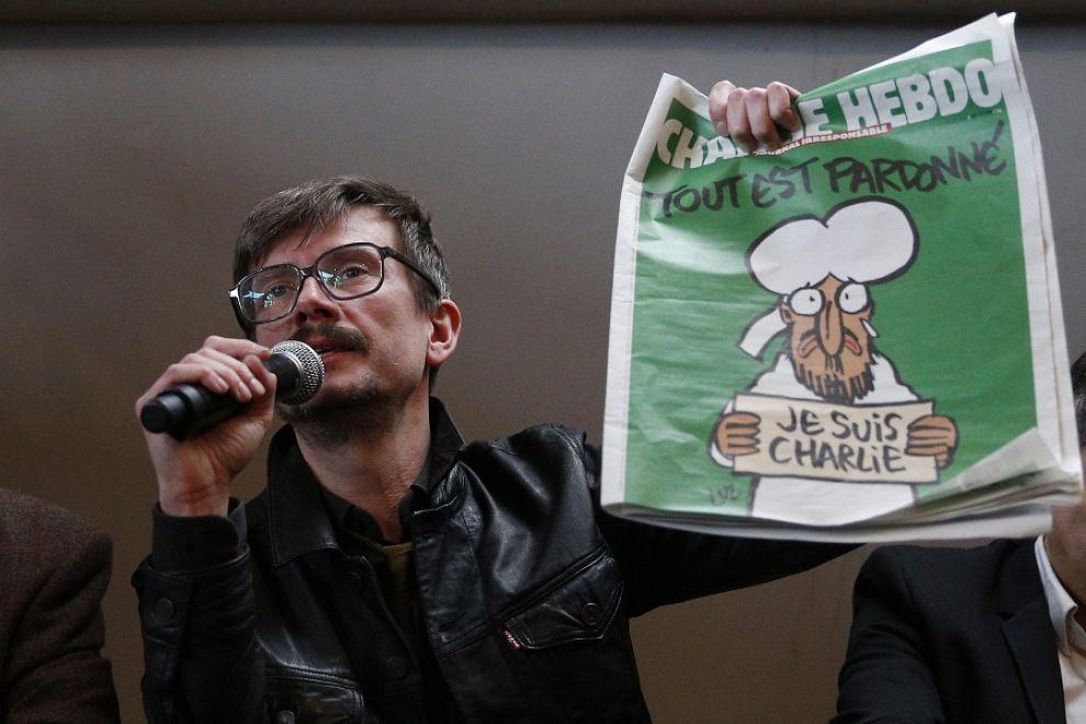 """""""Charlie Hebdo"""", il disegnatore Luz afferma: """"Non disegnerò più Maometto"""""""
