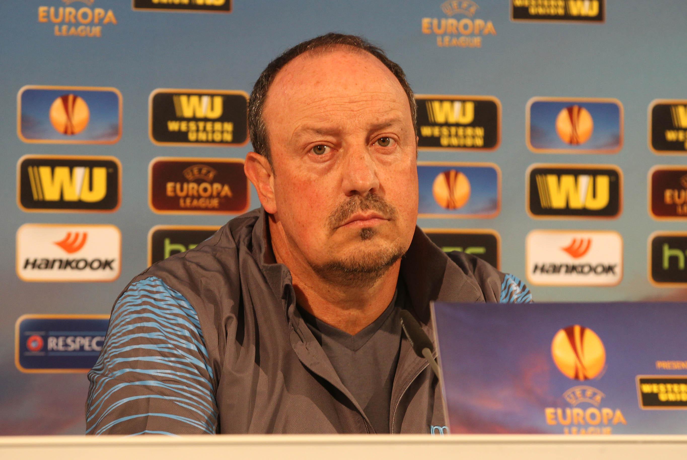 La conferenza stampa di Benitez dopo Wolfsburg