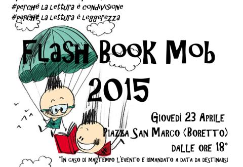 Flash Book sul Lungomare di Napoli: libri da scambiare e regalare alla