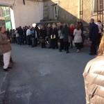 Tribunale di Napoli: file chilometriche per i controlli (FOTO)