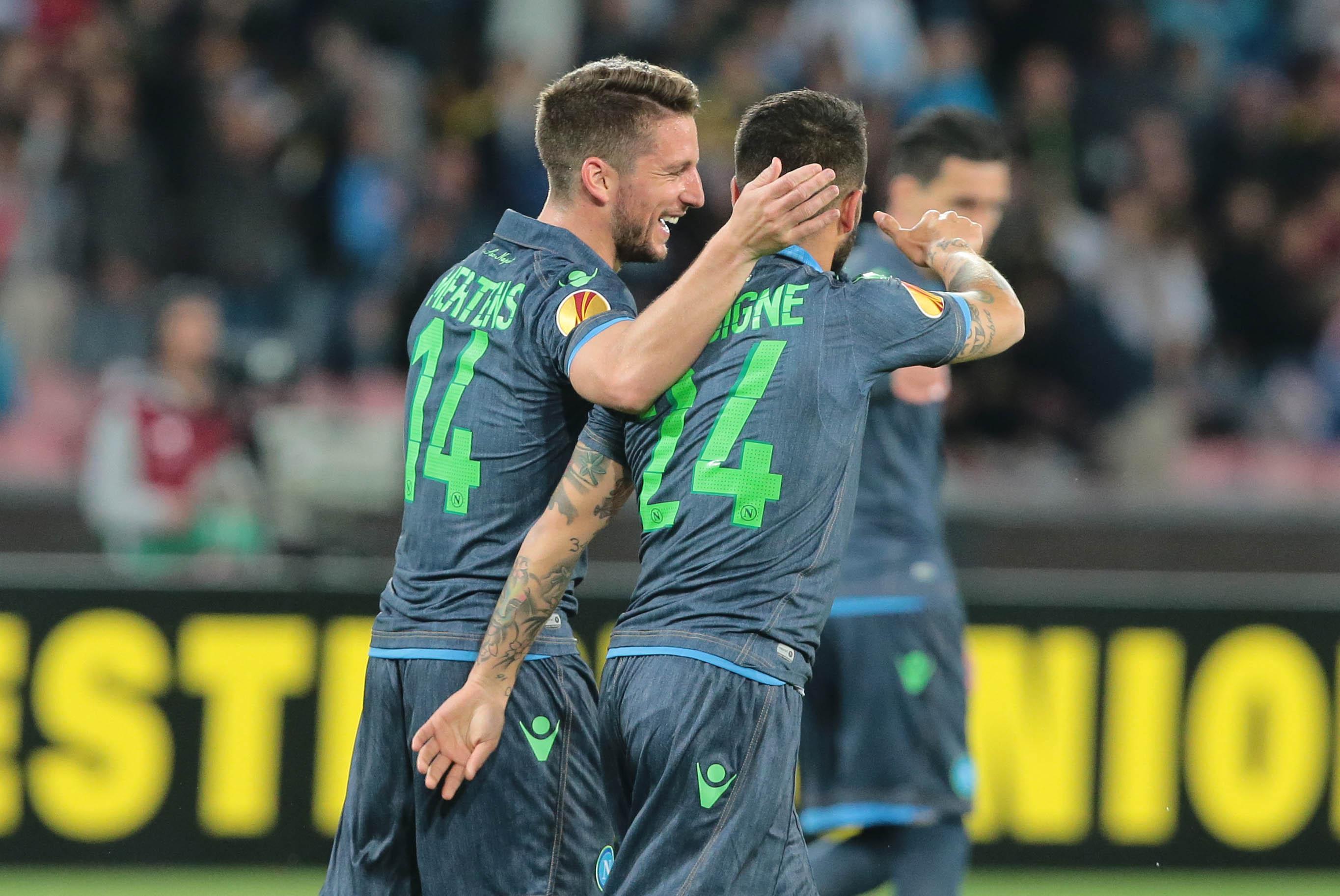 Napoli-Wolfsburg 2-2: azzurri in semifinale di Europa League dopo 26 anni (Foto)