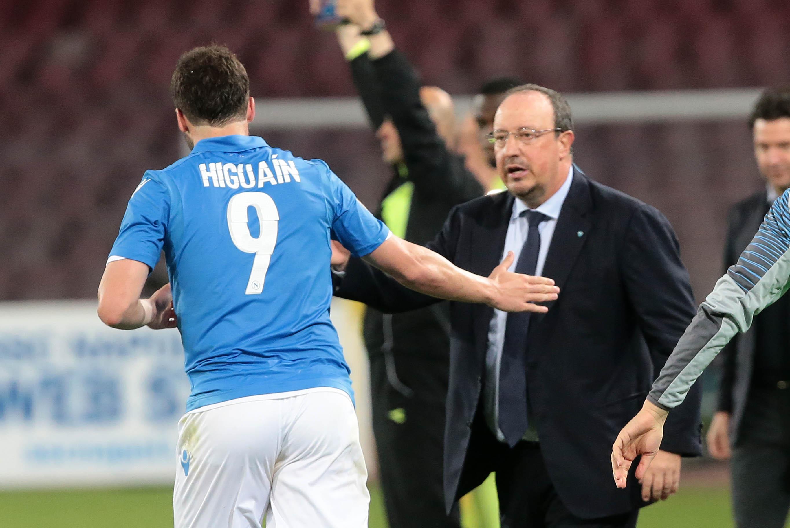 Napoli Sampdoria Benitez Higuain