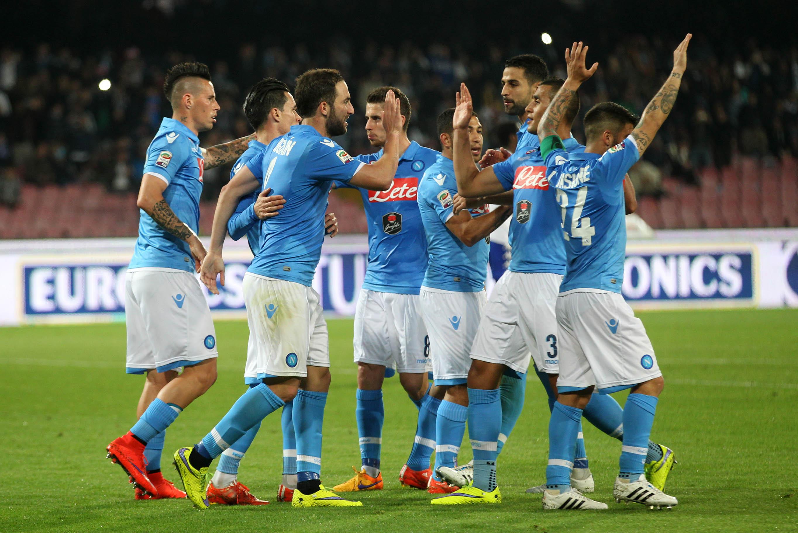 Napoli Sampdoria esultanza gol - ROAD TV ITALIA
