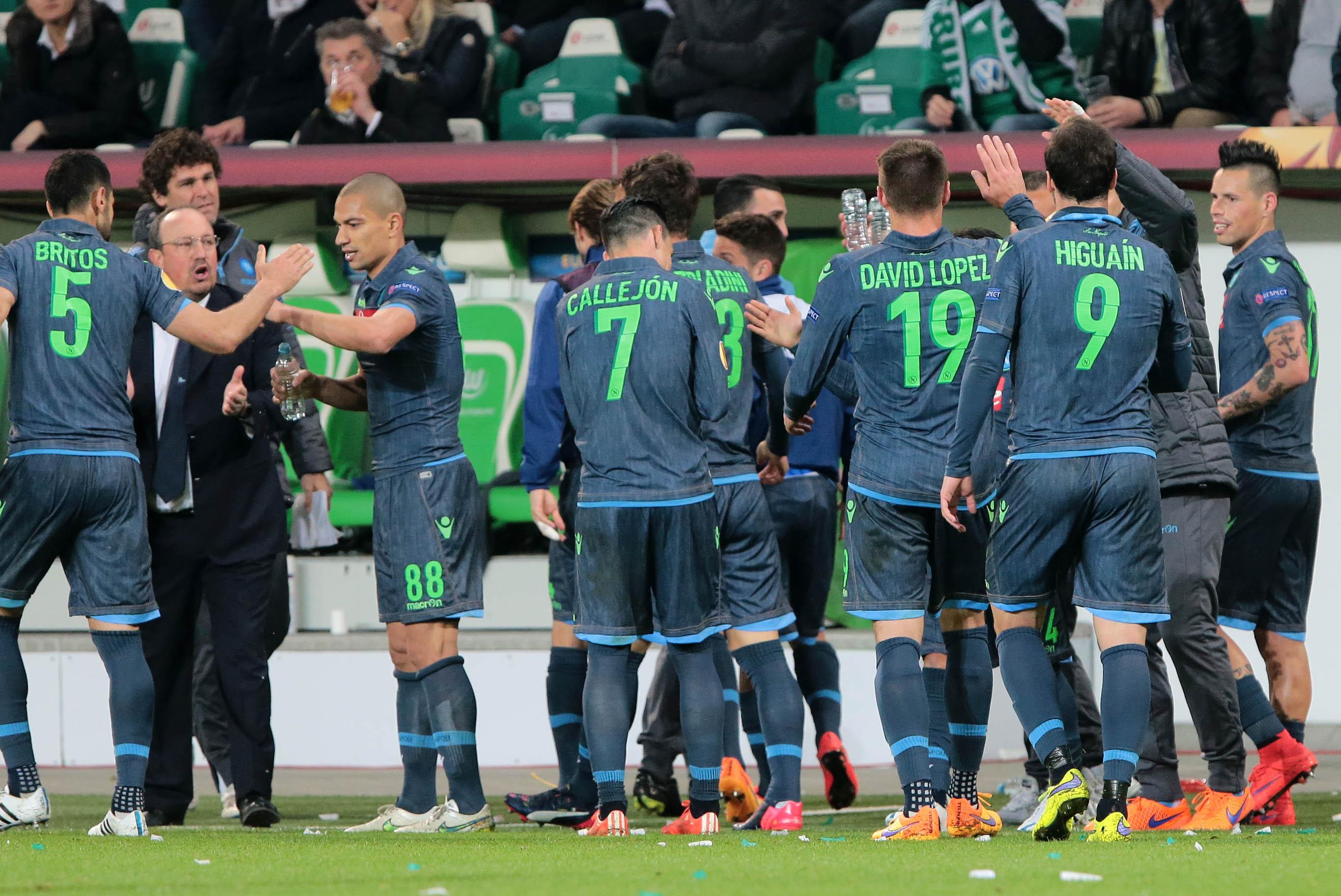 Wolfsburg Napoli 1-4