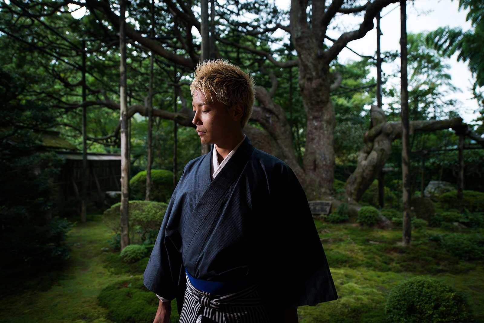 Yohsuke Aikawa, il samurai che canta i classici della canzone napoletana