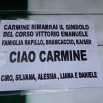 Carmine Del Pesce: gli abitanti di C.so Vittorio Emanuele piangono la sua morte