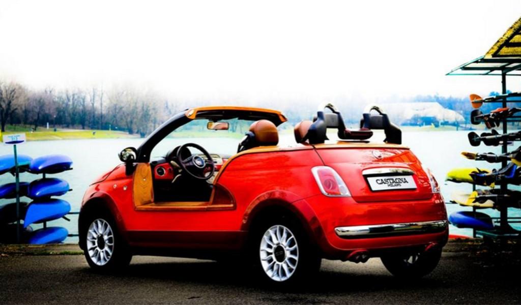 Fiat 500 Ischia, l'auto creata per la spiaggia