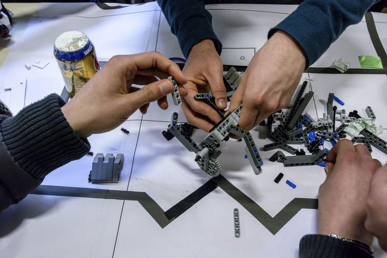 L'Istituto Tecnico Industriale Renato Elia trionfa alla Robotica Rome Cup