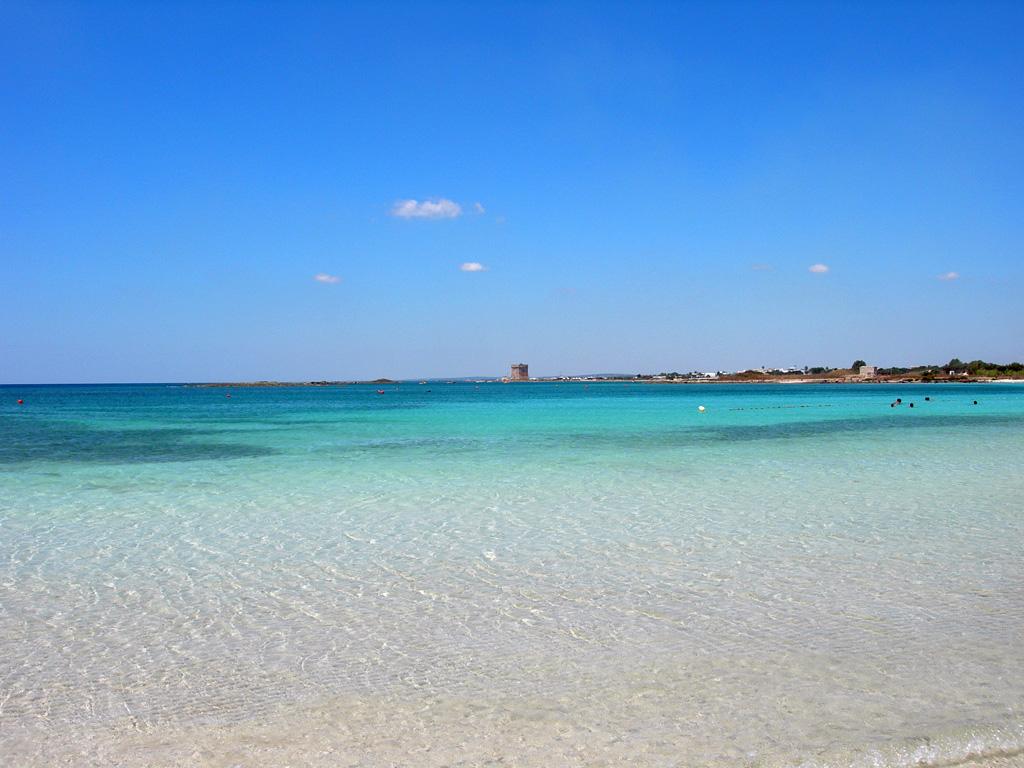 Le spiagge più belle del mondo: secondo posto per la spiaggia di Torre Lapillo, Salento