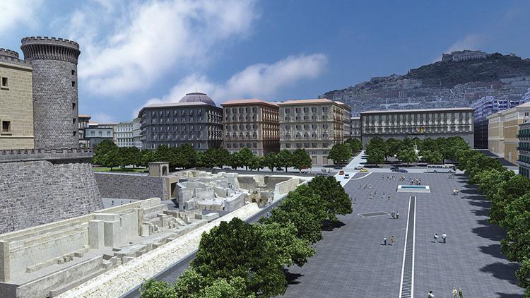 Linea 1 della metropolitana: 16 maggio inaugurata piazza Municipio