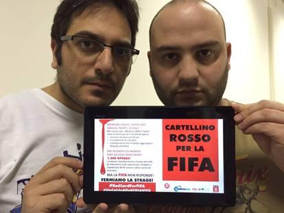 Mondiali in Qatar: la denuncia dei comici di