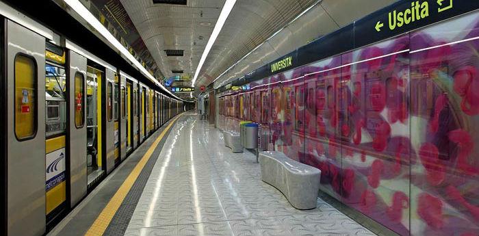 Napoli-Lazio, Coppa Italia: l'ANM potenzia i trasporti pubblici