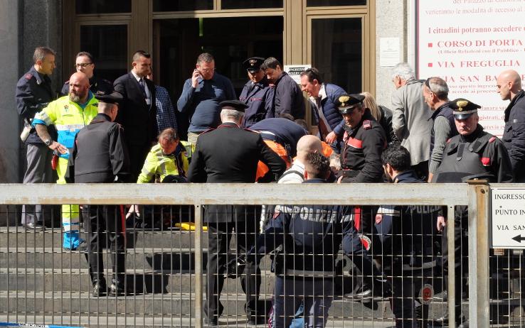 Spari tribunale di Milano: tre morti, tra cui il giudice Ciampi