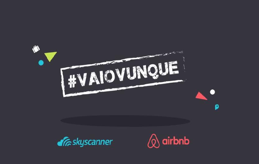 Napoli protagonista di #vaiovunque, un'idea nata da Skyscanner e Airbnb