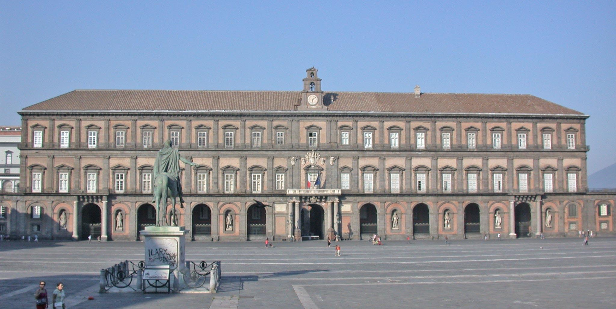 Palazzo Reale di Napoli il G20