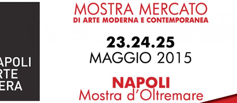 """""""Napoli Arte Fiera"""": negli spazi della Mostra d'Oltremare dal 23 al 25 maggio"""