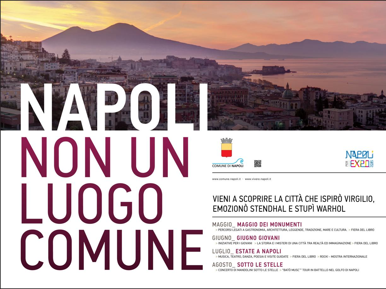 'Napoli non è un luogo comune': la campagna parte da Torino e Bologna