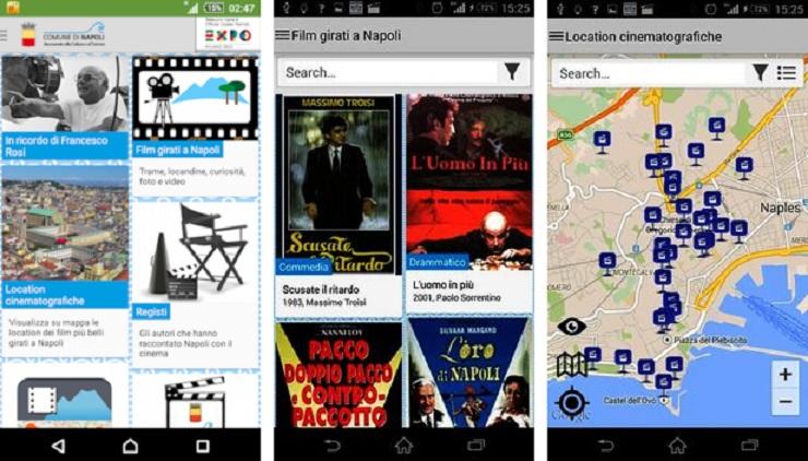 NapoliMovieTour: l'app mobile per scoprire la Napoli del cinema