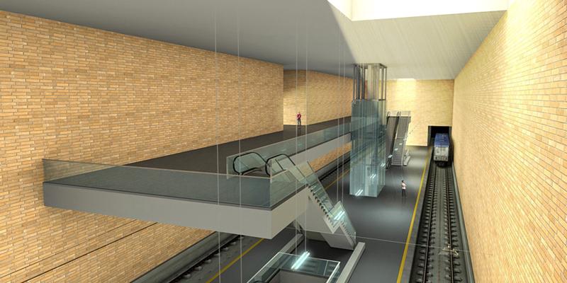 Stazione Municipio: Renzi presente all'inaugurazione