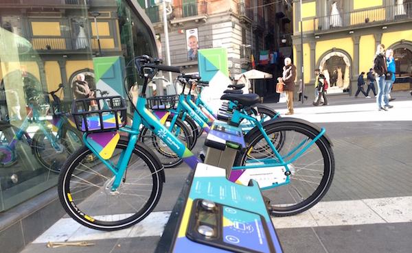 Napoli, Bike Sharing: servizio prorogato fino al 30 settembre 2015