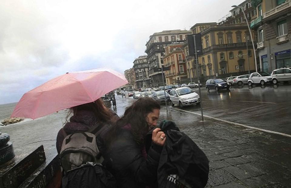 Ciclone Ferox: pioggia e temperature in calo di 10 gradi