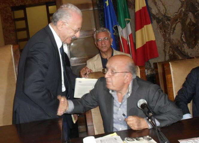 Ciriaco De Mita passa con De Luca: