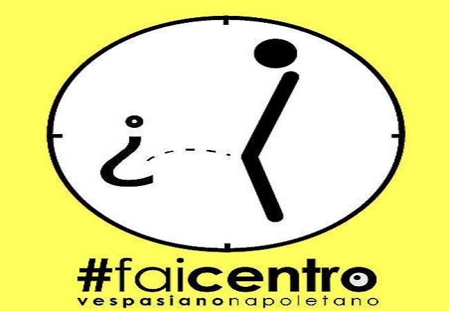 Presentazione #FaiCentro: il 1° vespasiano artistico d'Italia a Napoli