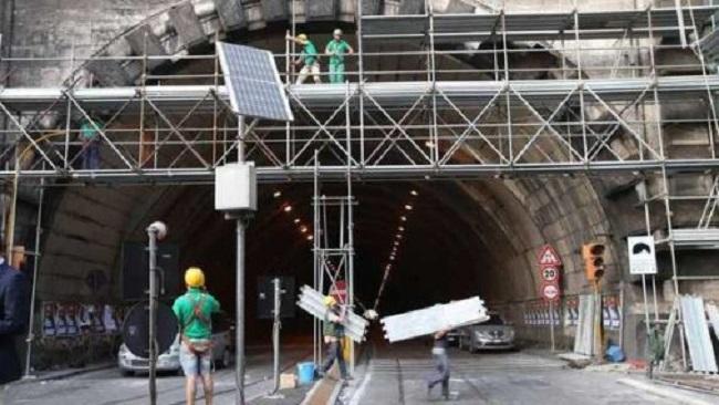 Fine dei Lavori alla facciata della Galleria Vittoria, riapre al traffico