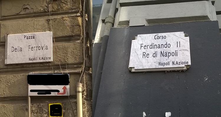 Napoli: il Comune toglie dalle strade le targhe neoborboniche apparse di recente