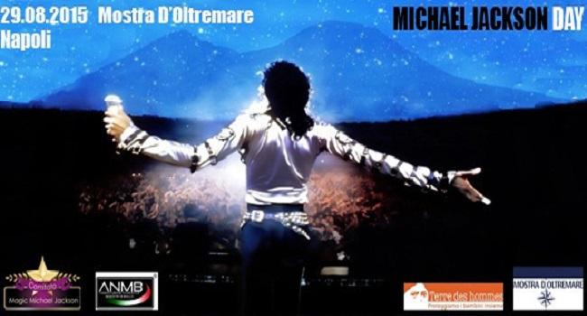 Michael Jackson Day 2015, il 29 agosto alla Mostra d'Oltremare, Napoli