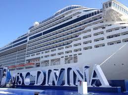 Msc Divina: primo scalo nel porto di Napoli per la nave dedicata a Sophia Loren