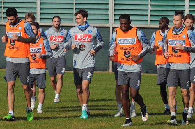 #NapoliAma: allenamento a porte aperte in vista di Napoli-Lazio