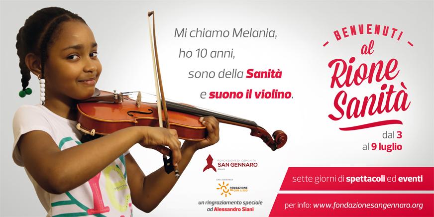 """""""Benvenuti al Rione Sanità"""": sette giorni di arte, musica, teatro e divertimento"""