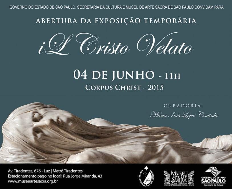 Cristo velato: una mostra olografica nel Museo di Arte sacra di San Paolo