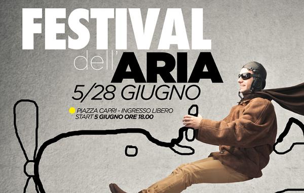 Festival dell'Aria: tutti al Vulcano Buono per provare l'ebrezza del volo