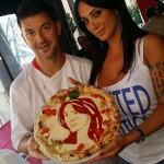 Marika Fruscio: Errico Porzio le dedica una pizza (FOTO)