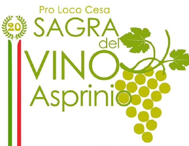 XX edizione Sagra del Vino Asprinio, dal 26 al 28 giugno