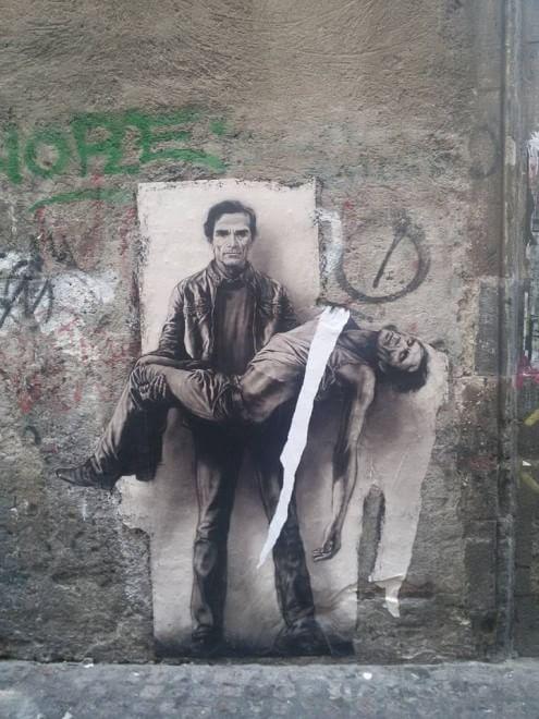 Opera di Pignon vandalizzata: la denuncia di Pino De Stasio