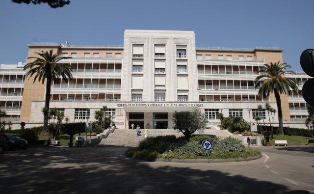 Sospesi gli interventi al centro pediatrico Monaldi di Napoli