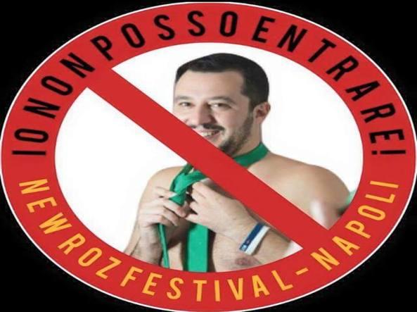 Vietato a Salvini: un festival musicale organizzato a Napoli