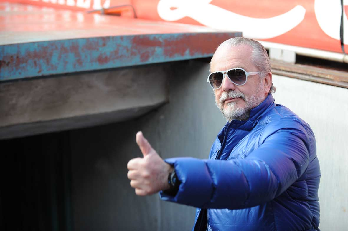 Aurelio De Laurentiis risponde ai tifosi: