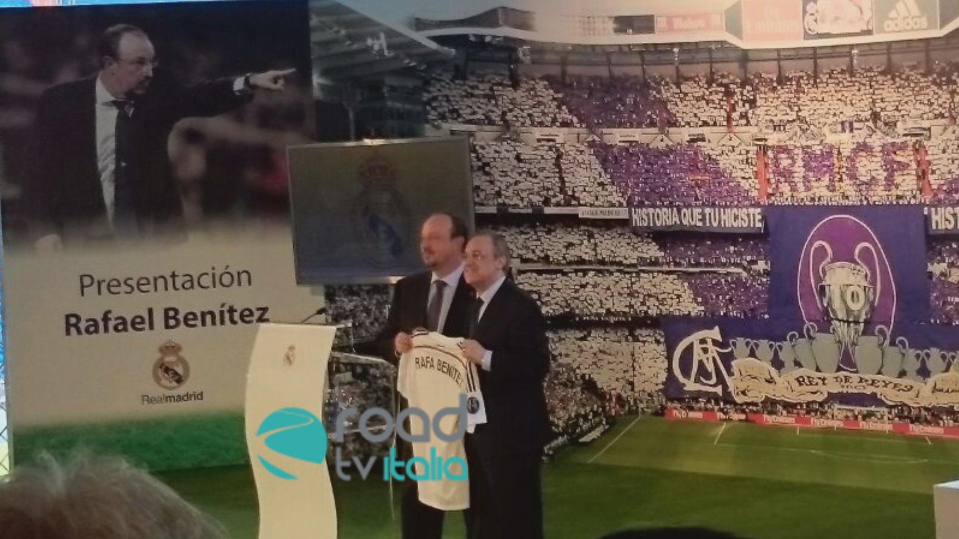"""Benitez emozionato a Madrid: """"Torno a casa"""""""