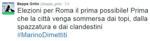 """Beppe Grillo: """"I clandestini come i topi e la spazzatura"""""""