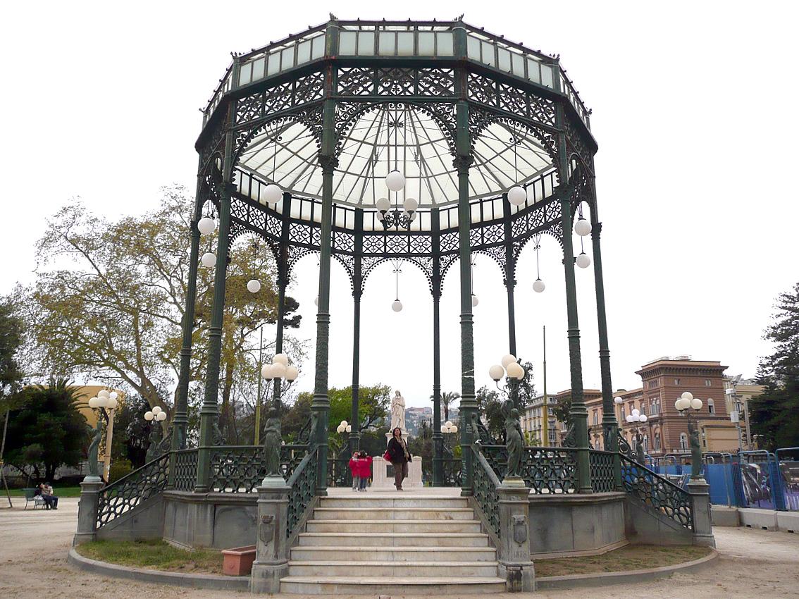 Napoli, restauro Cassa Armonica della Villa Comunale, sarà restituita alla città
