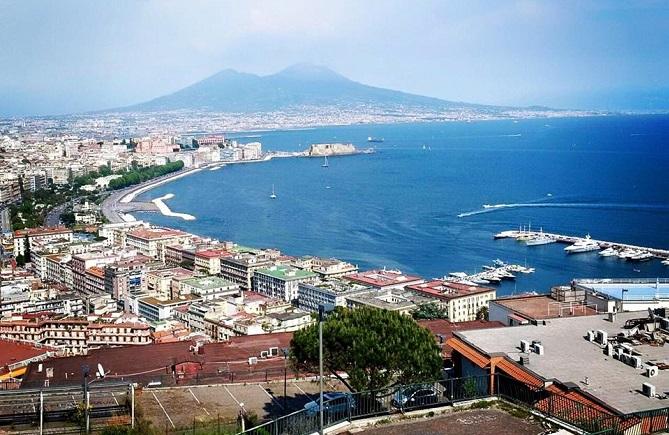 Ciro Immobile torna nella sua Napoli e posta foto su Facebook