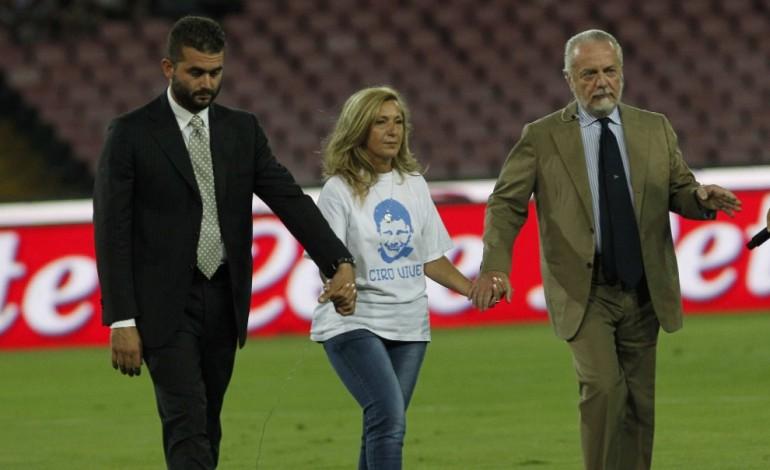 """""""D'amore non si muore"""": il Napoli ricorda Ciro Esposito"""