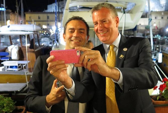 De Blasio e De Magistris a colloquio a Mansion Grace, gettate le basi di un progetto politico unico